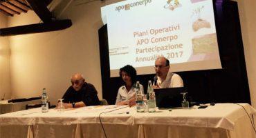 Roberto Crosara, Presidente di Cooperativa Servizi Mezzano di Ostellato al termine della Assemblea di Bilancio